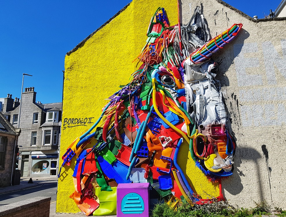 Aberdeen Murals and Street Art | Outside Suburbia