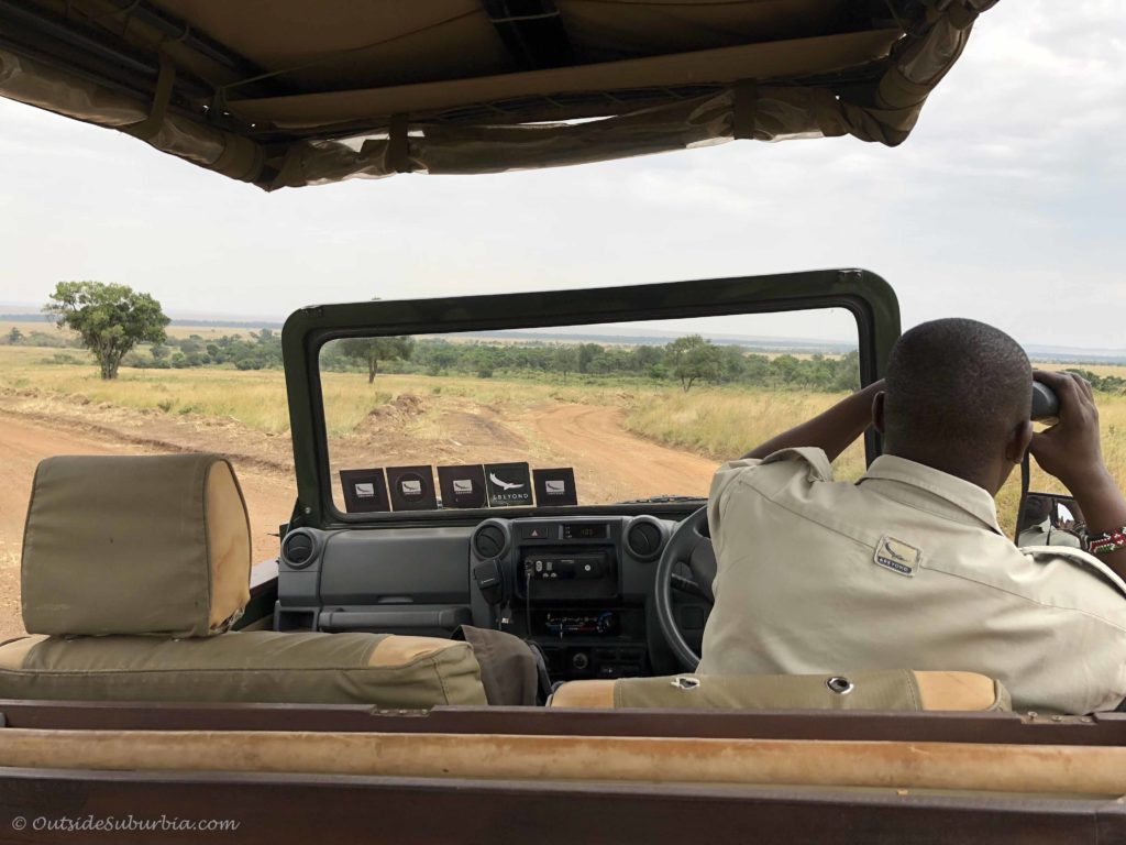 Game drives! AndBeyond Bateleur Luxury Safari Camp Masai Mara, Kenya - Photo by Outside Suburbia