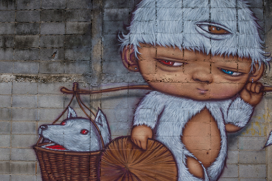 Bangkok Street Art - The Lost Passport