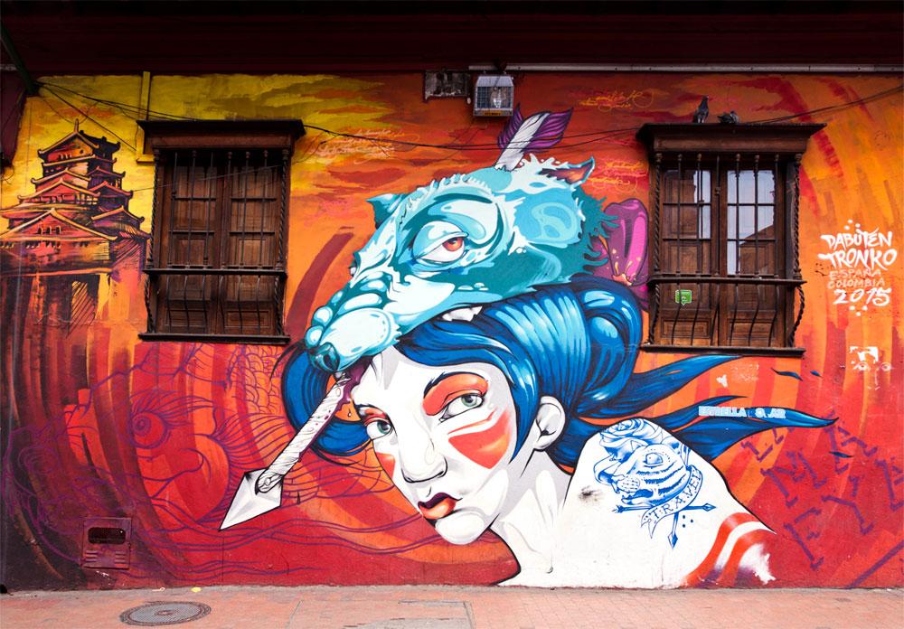 Street Art in Bogotá, Colombia | Outside suburbia