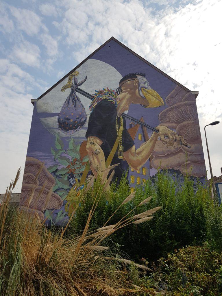 Street Art in Gent, Belgium