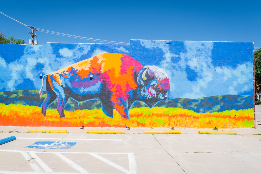 Street Art in Hot Springs, South Dakota | Outside Suburbia