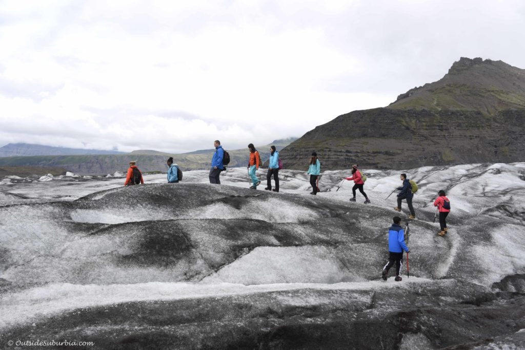 Walk on glaciers - 10 Easy Adventures you need to add to your Iceland bucket list