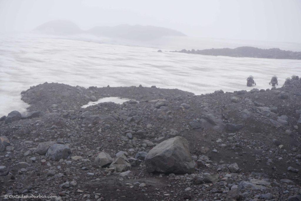 Snowmobile tour on Mýrdalsjökull glacier with Arcanum in Iceland #Iceland #Bucketlist