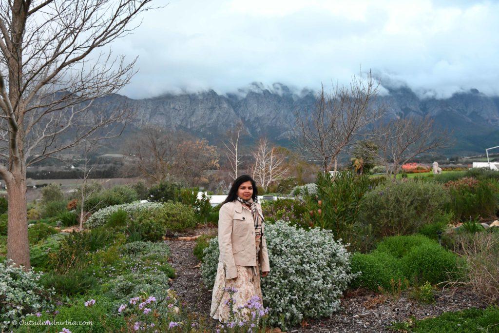 Garden and Grounds at Mont Rochelle Franschhoek
