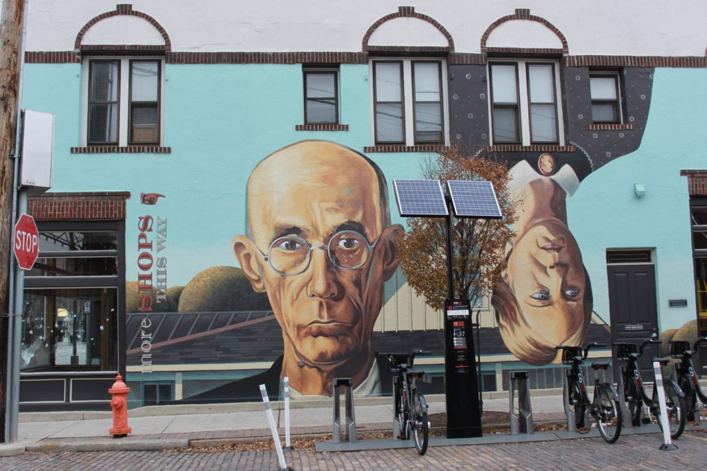 Short North Gothic Mural-Ohio