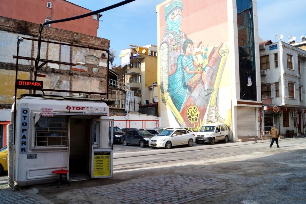 Street Art Istanbul Turkey