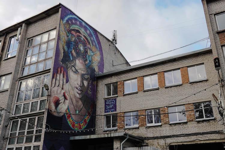 Street art in Tallinn