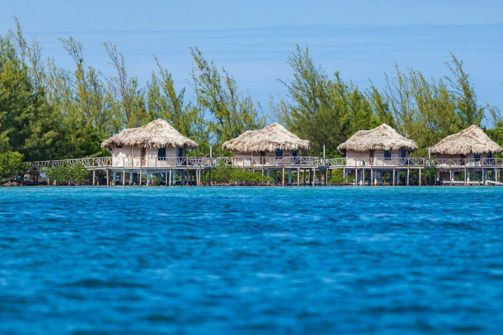 Thatch Caye Resort in Belize: Great option for nature lover | 15 awesome Overwater villas and bungalows around the world | Outside Suburbia