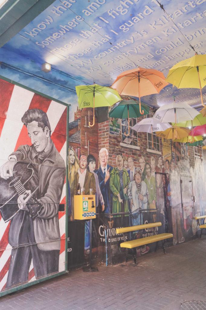 Street art - The Duke of York Belfast