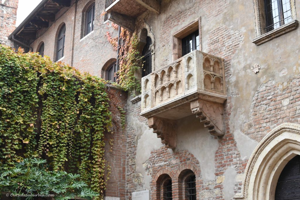Juliet Balcony, Verona, Italy - Photo by OutsideSuburbia.com