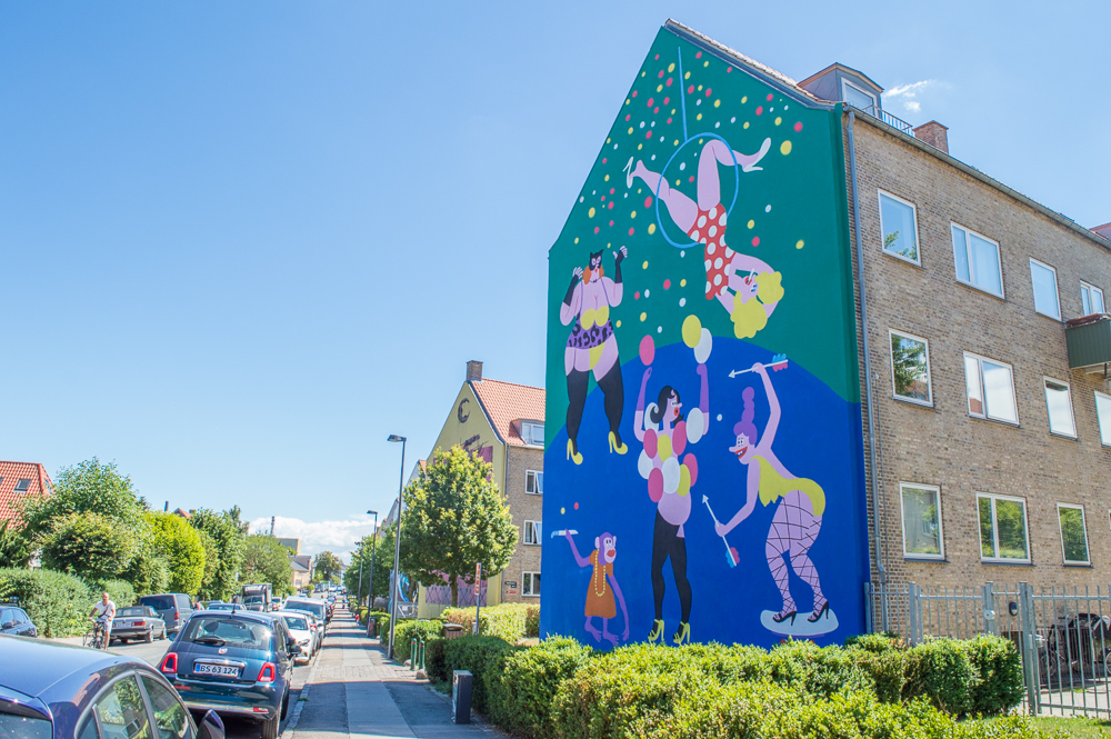 Mural in Copenhagen, Denmark  | Outside Suburbia