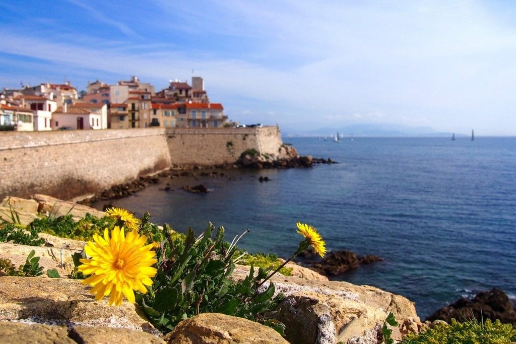 One day in Antibes, French Riviera