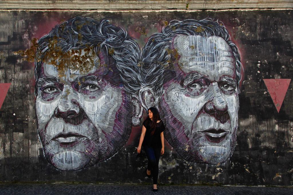 Street art in Azores