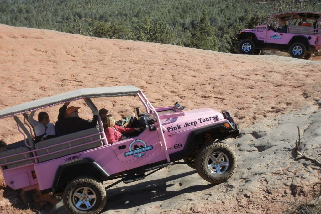 Pink Jeep Tours in Grand Canyon
