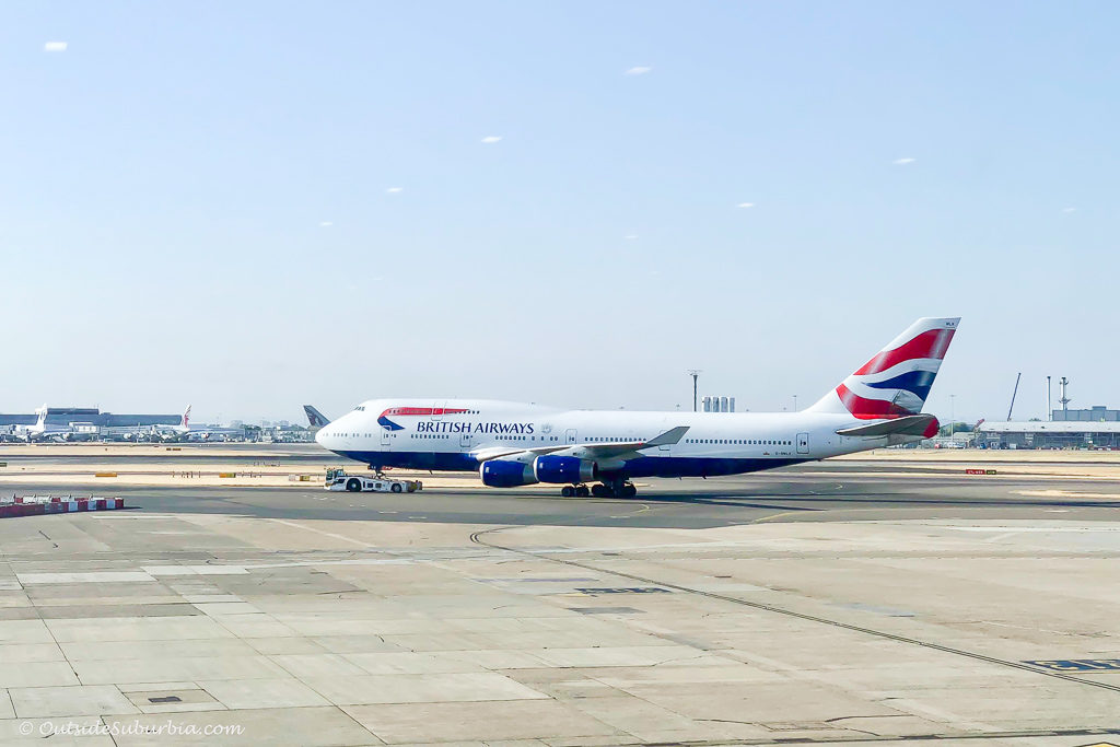 A peek at the British Airways Upper Deck