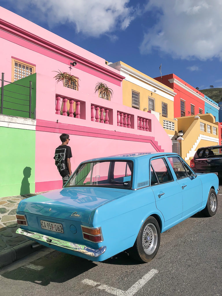 The colorful Bo-Kaap Area, Cape Town