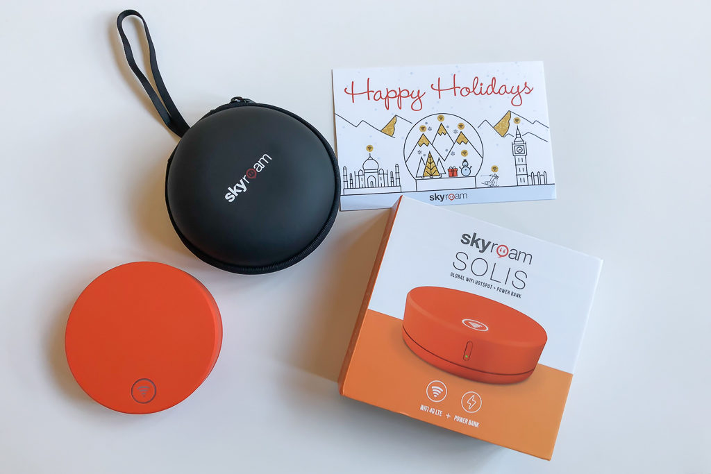 skyroam solis - 15 best gifts for travelers - OutsideSuburbia.com