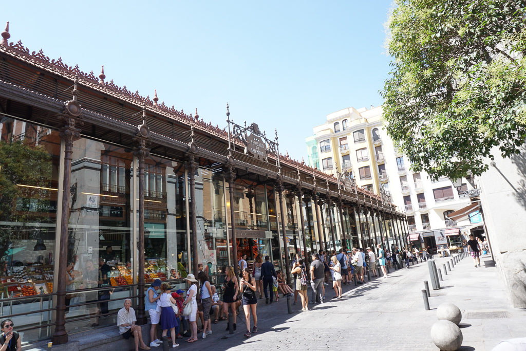 Mercado San Miguel, Madrid Spain Photo by Outside Suburbia