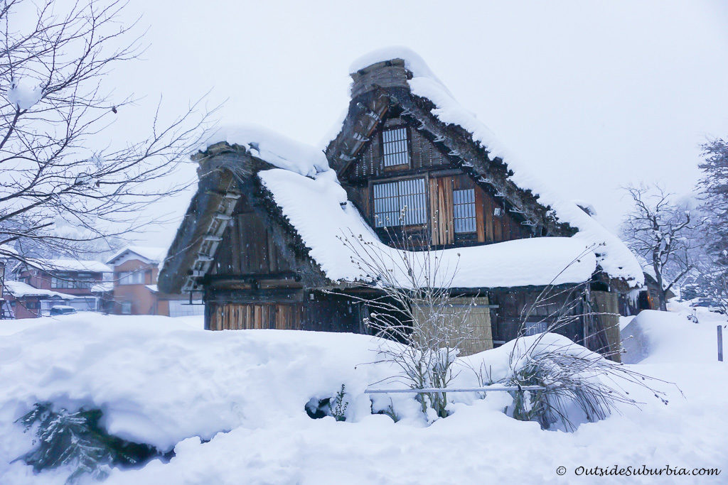 Gassho-zukuri house, Photos from Snow day in Shirakawa Go, Japan - OutsideSuburbia.com