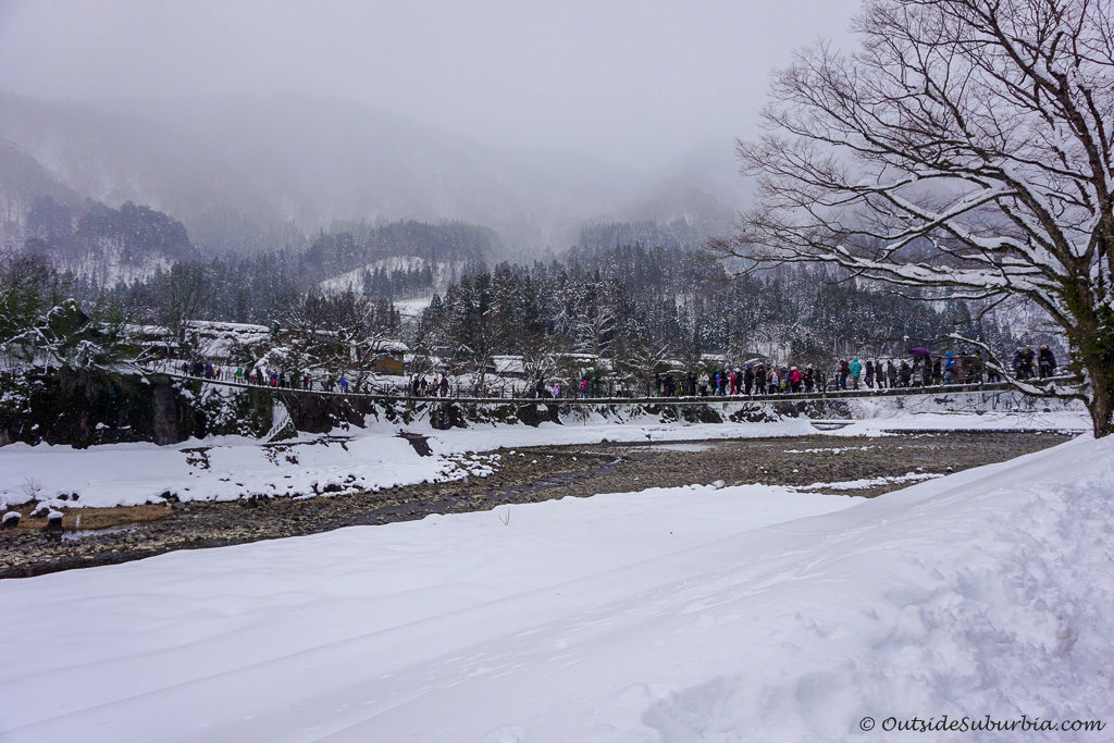 Shogawa River Valley - Photos from Snow day in Shirakawa Go, Japan - OutsideSuburbia.com