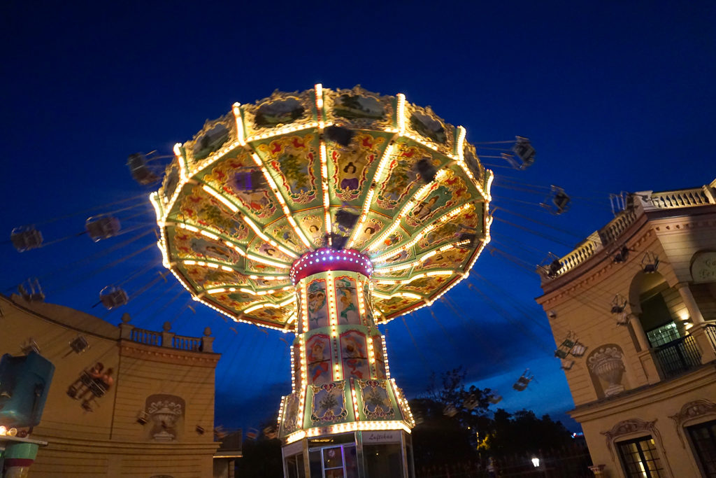 Prater Amusement Park, Vienna - Photo by OutsideSuburbia