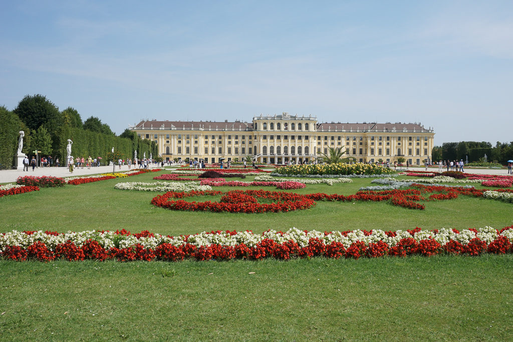 Schonbrunn Palace - Best Things to do in Vienna with kids - Photo by Outside Suburbia