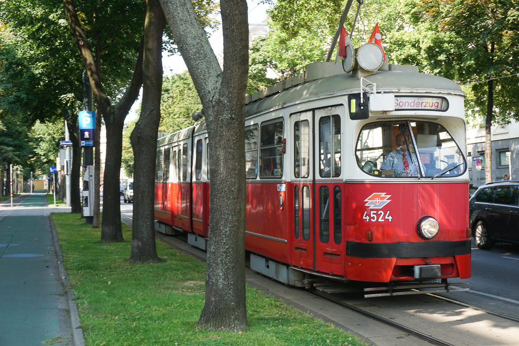 Tram rides - Best Things to do in Vienna with kids - Photo by Outside Suburbia