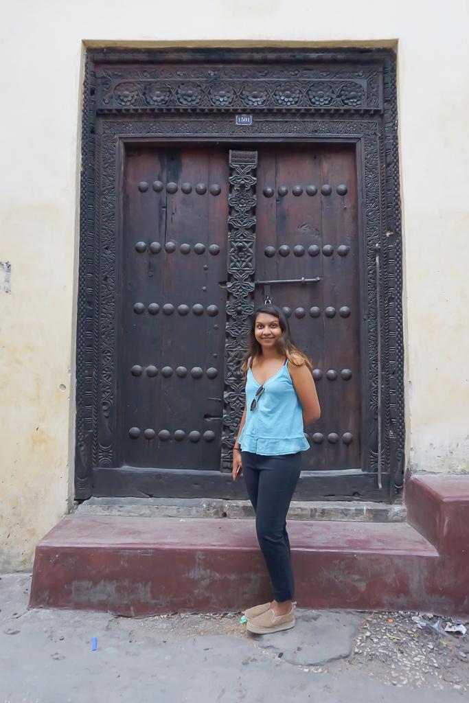 Zanzibari Doors in Stone Town, Zanzibar
