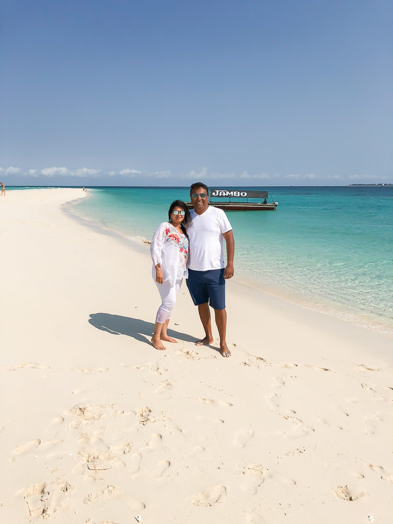 The Nakupenda Sandbank is one of the best eight secret beaches in the world