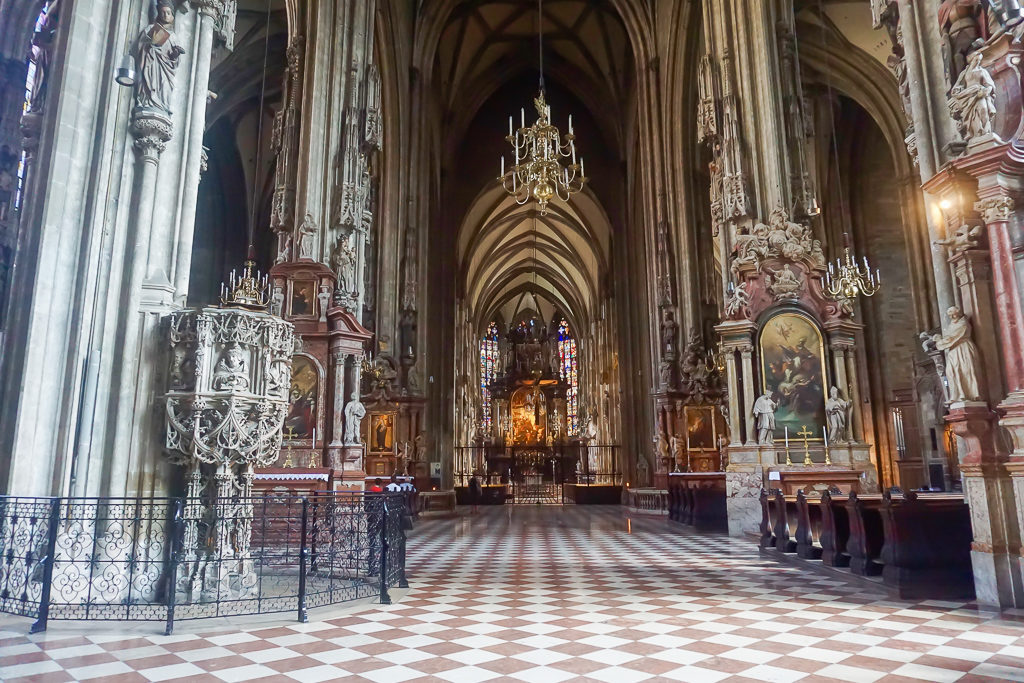 St Stephen's Cathedral, Vienna Photo by Outside Suburbia