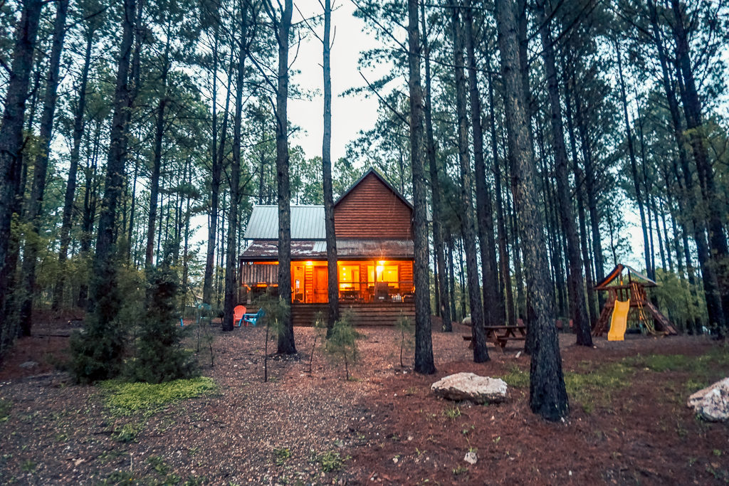 Glamping in Beavers Bend, Oklahoma