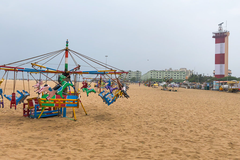 Marina Beach, Chennai Photo by Priya Vin @OutsideSuburbia
