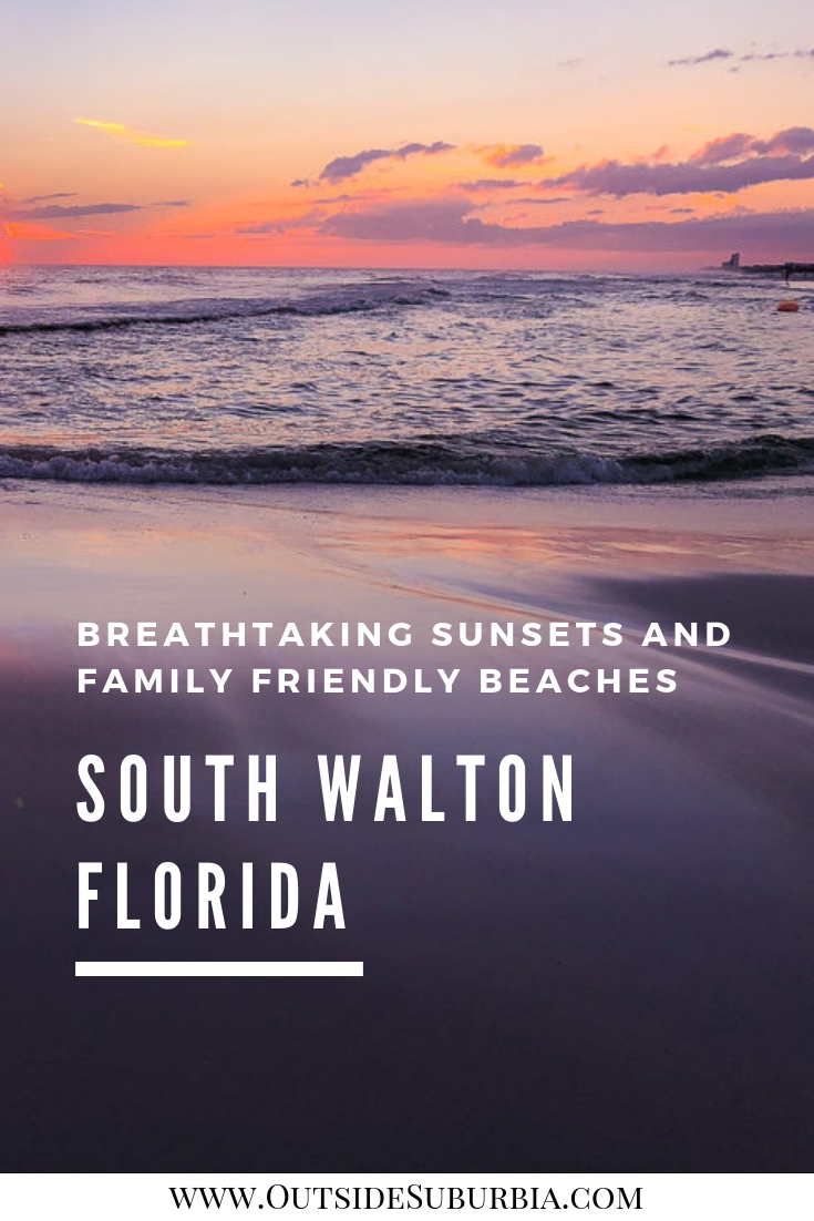 If you are looking for a family friendly beach with sugar white sand and emerald waters, South Walton, Florida is just the place. #SouthWalton #Florida #FamilyFriendlyBeaches