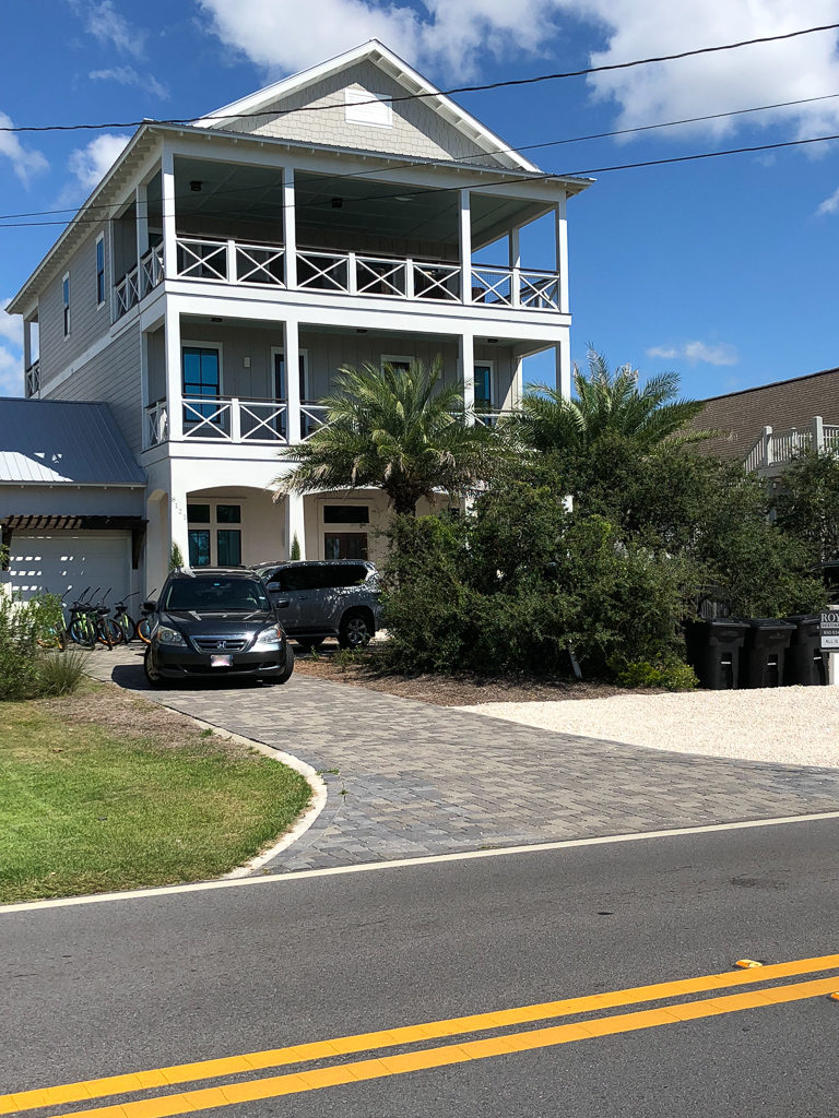 The beach house we stayed at for a group trip on 30A, South Walton, Florida