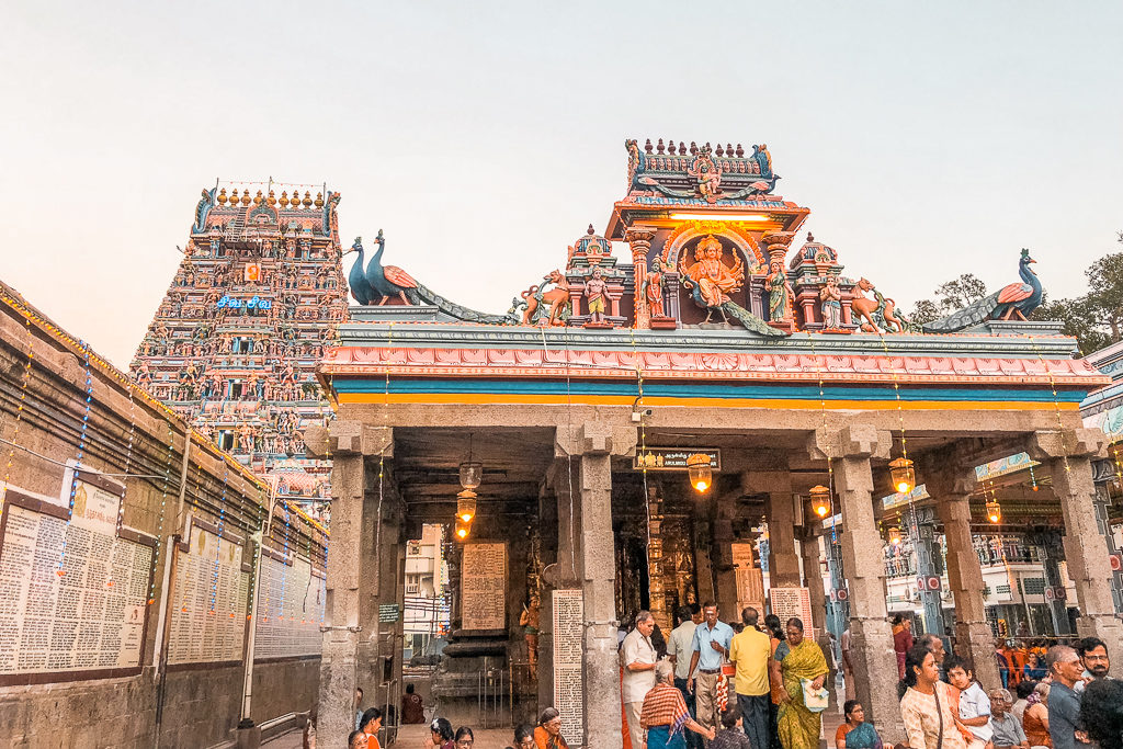 Kapaleeshwarar temple, Chennai Photo by Priya Vin @OutsideSuburbia