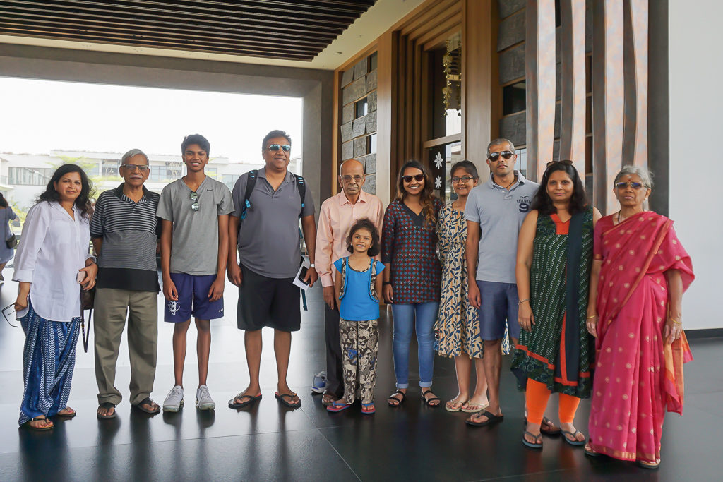 Family in Chennai