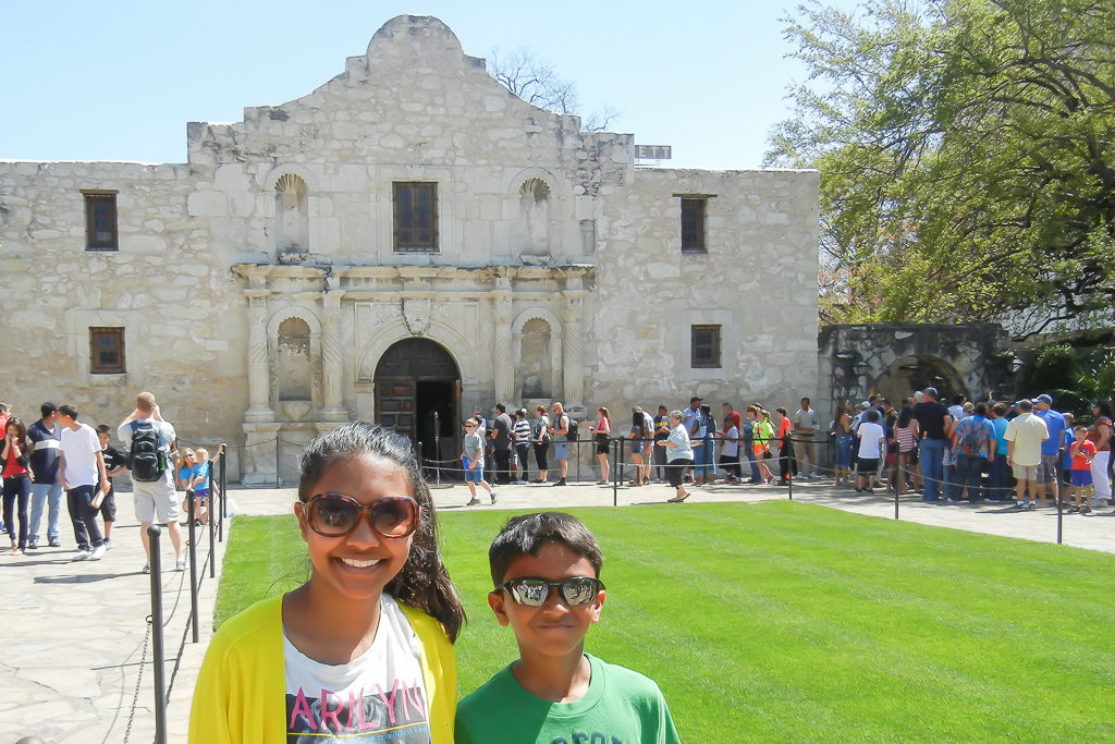 Alamo, San Antonio, Texas - Family Getaways near Dallas - Photo by OutsideSuburbia