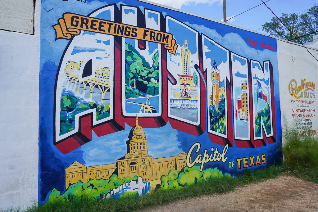 Austin mural - Photo by Outside Suburbia