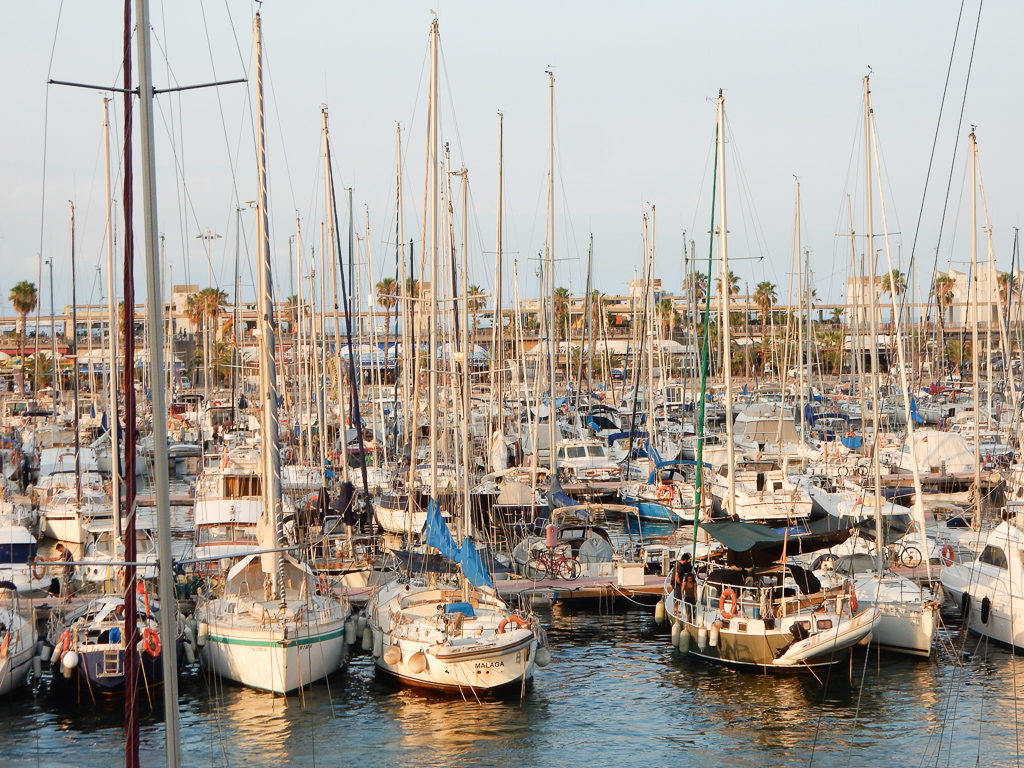 Barcelona Port. Things to do in Barcelona with Kids Photo by Outside Suburbia