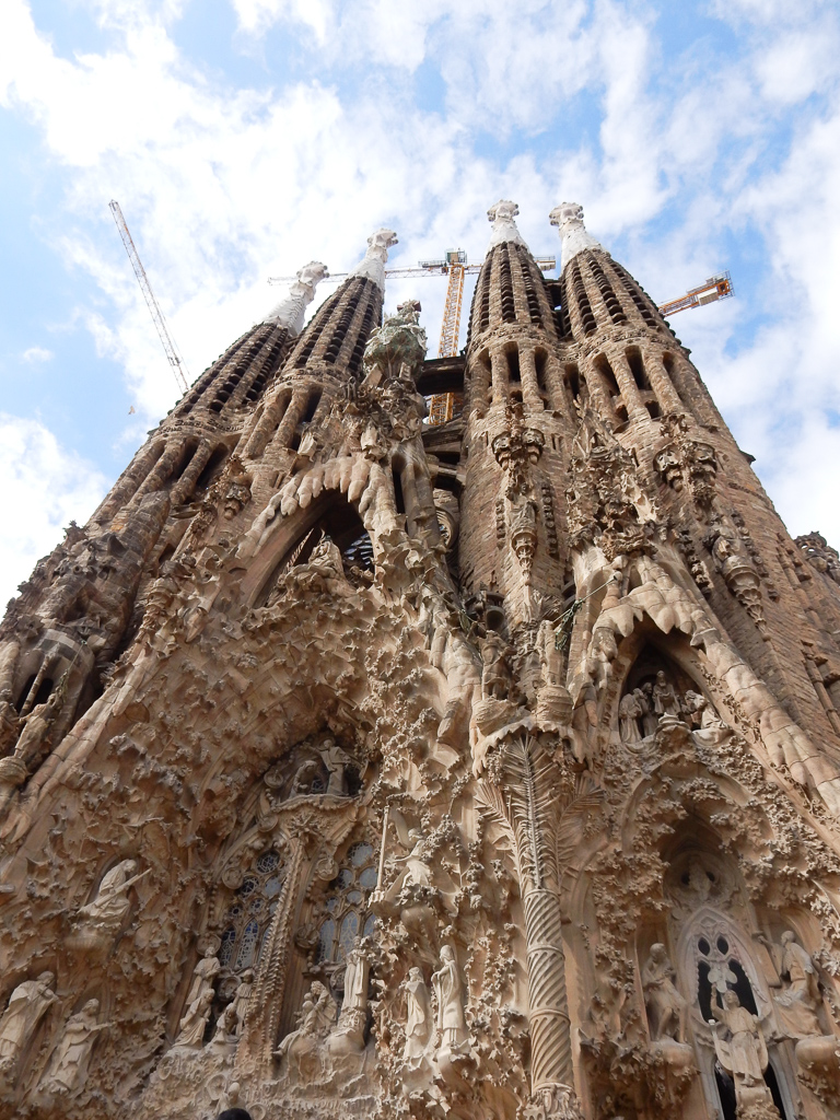 Sagrada Familia.Things to do in Barcelona with Kids Photo by Outside Suburbia