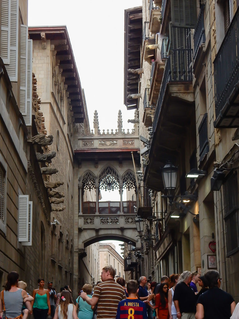 Gothic Quarter - Things to do in Barcelona with Kids Photo by Outside Suburbia