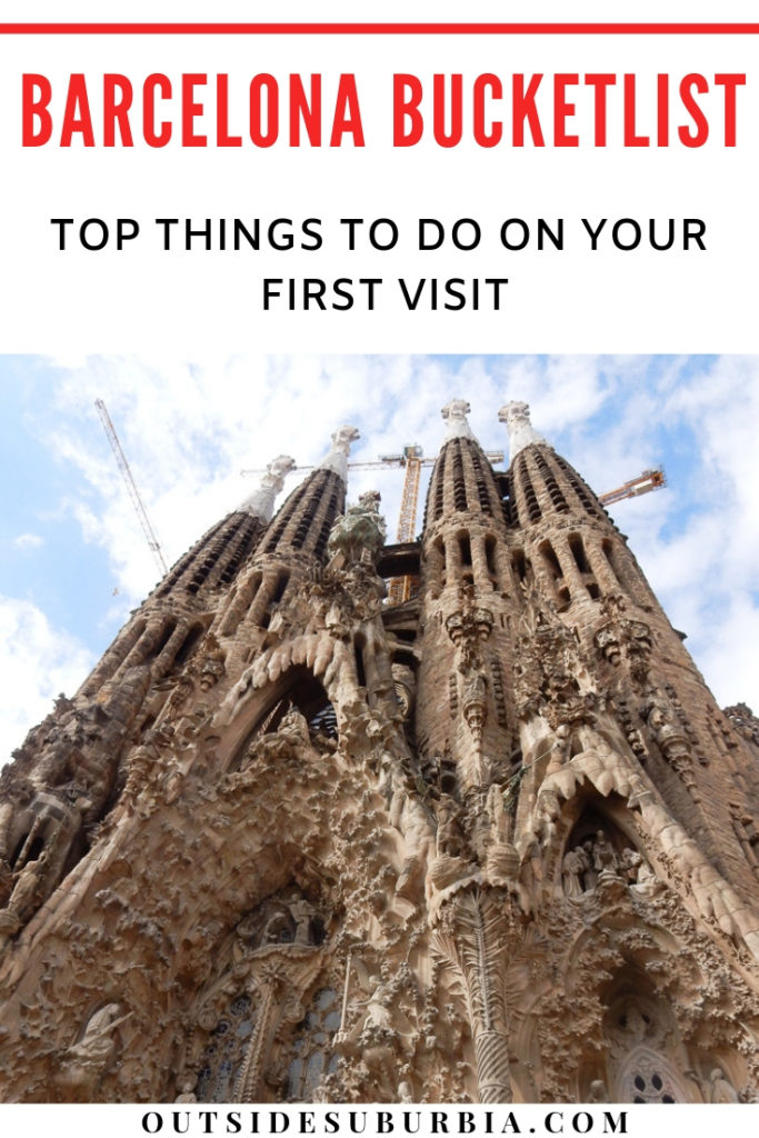 Top Things to do in Barcelona on your first visit #SpainWithKids #3dayBarcelonaItinerary #OutsideSuburbia #BarcelonaBucketlist