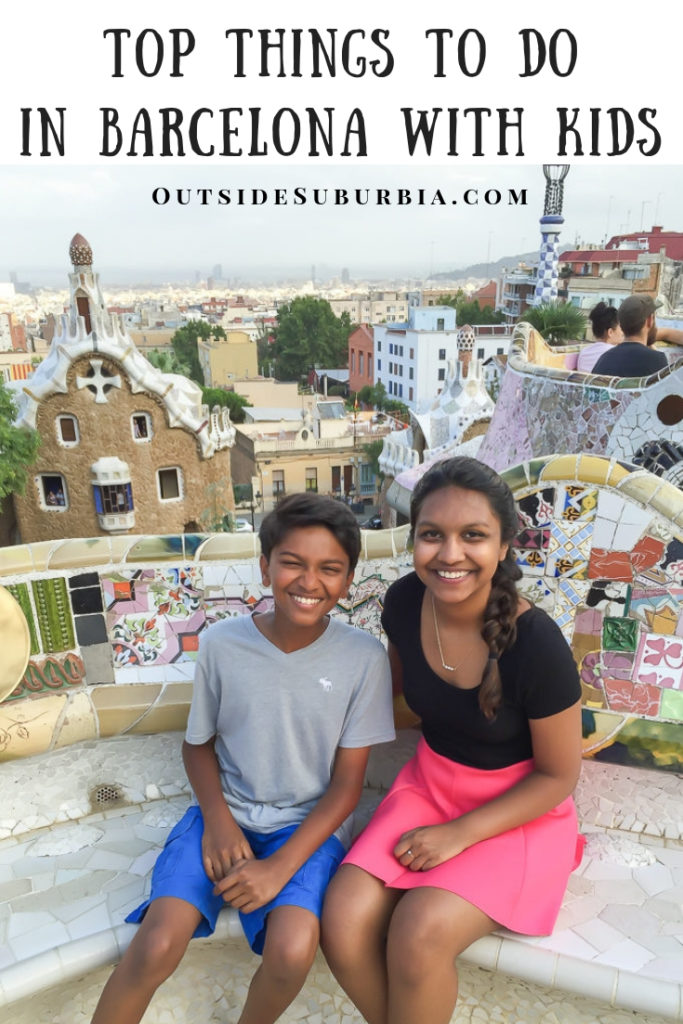 Top Things to do in Barcelona with kids | Outside Suburbia