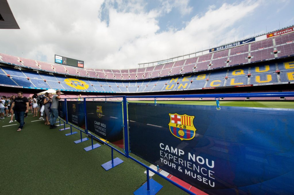 FC Barcelona Stadium. Things to do in Barcelona with Kids Photo by Outside Suburbia