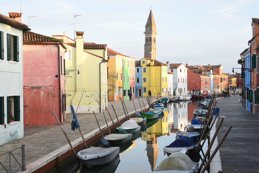 Colorful Burano, Italy - Photo by Outside Suburbia