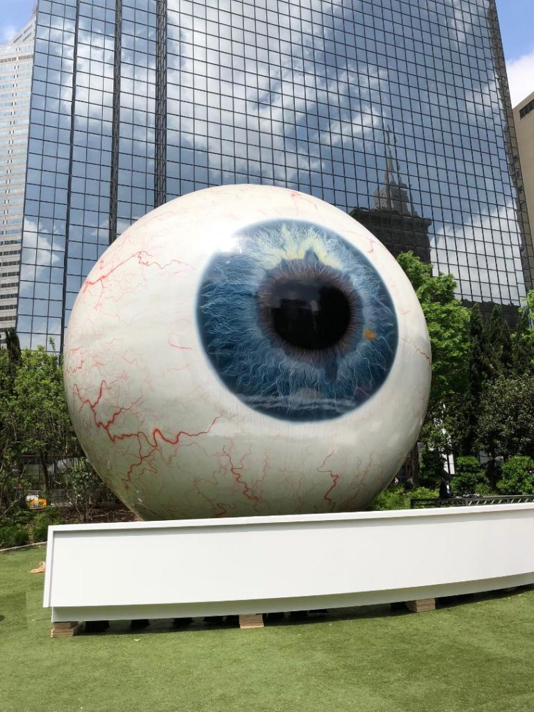 Giant Eyeball, Dallas, TX Photo by Outside Suburbia