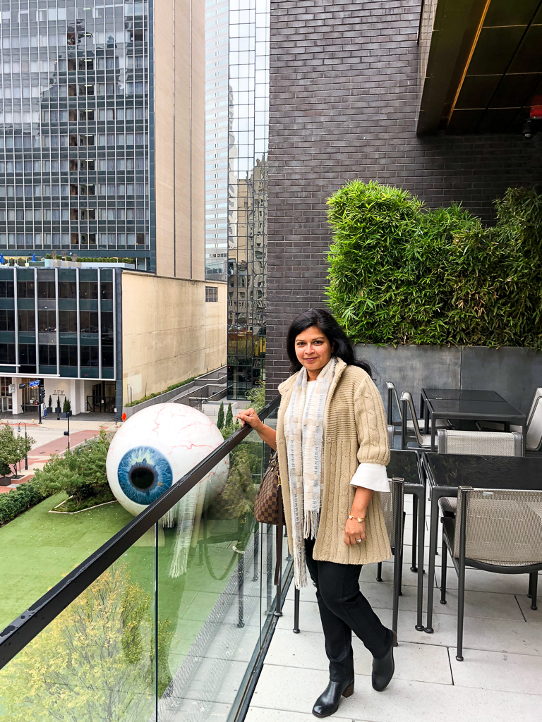 Giant Eyeball, Dallas, TX Photo by Outside Suburbia