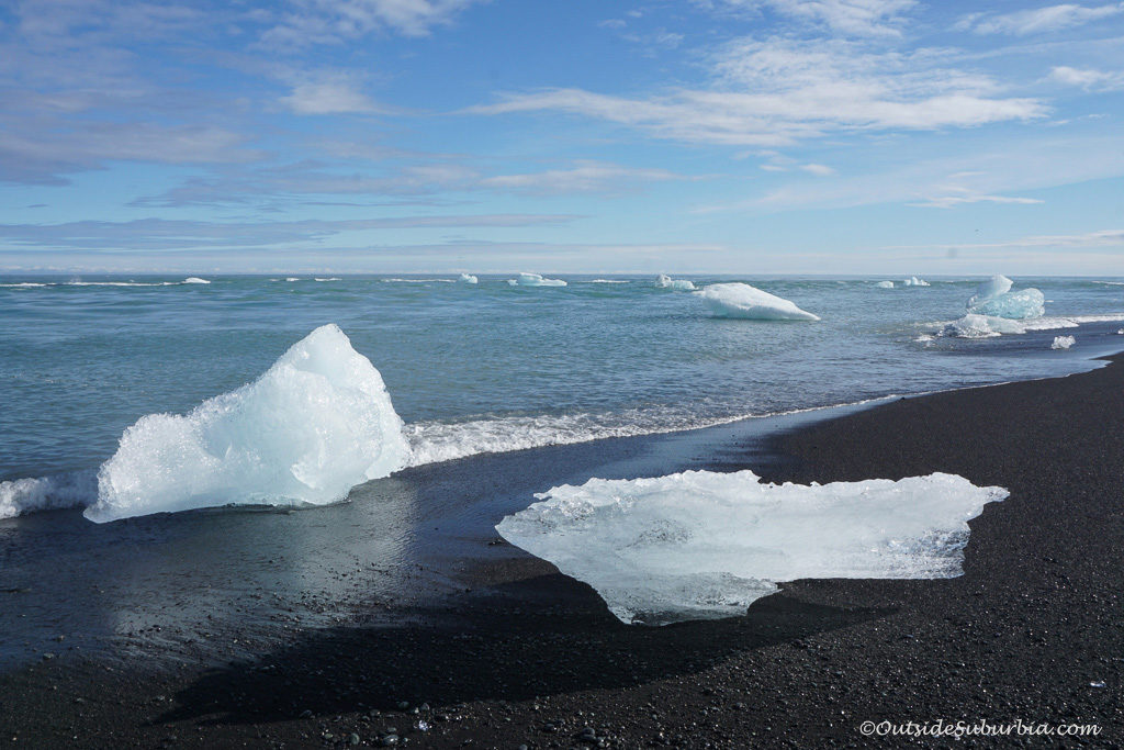 Diamond Beach, Iceland Photo by OutsideSuburbia - 10 Easy Adventures in Iceland