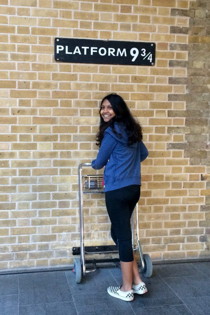 While there is no Hogwarts Express, you can snap a photo at Platform 9¾, at the King's Cross Station
